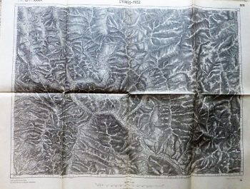 Pasul Ghimeș Gyimes-Pasz  Romania old map 1915