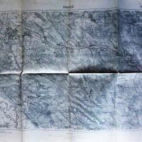 Dorohoj Romania map Landkarte harta cca 1915