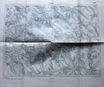 Lipkany Moldova Ukraine map Landkarte karta 1915