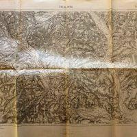 Târgu Ocna Tírgul-Ocna Romania harta map Landkarte 1915