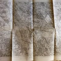 Uidesti Botosani Sucsava Romania harta map Landkarte 1915