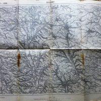 Berezsani Brzezany Pidhaitsi Podhajce karta map Landkarte 1913