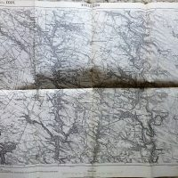 Borszczów Ivankov Borscsiv Ivankiv Ternopil Ukraine karta map Landkarte 1915