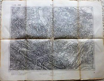 Kuty Kosiv Ispas Zabolotyv Ukraine karta map Landkarte 1914