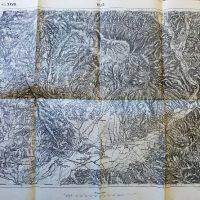 Bilke Bilki Cserhalom Szt Miklos Ukraine 1911 Karta Landkarte map