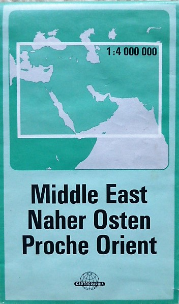 Middle East Dubai Turkey map 1986 87