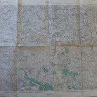 Rohatyn Rogatin Burstin Ukraine 1914 Ukraine Karta map Landkarte