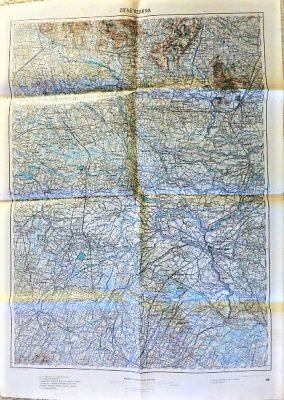 29 45 Verona Italy Landkarte mappa map 1915