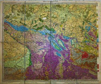 Karte des Deutschen Reichs. Sect. 13: Hannover map