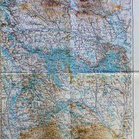 Iasi Romania Landkarte map 1915