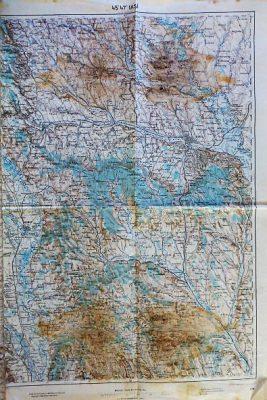Iasi Romania Harta Landkarte map 1915