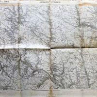 Jagielnica Czernelica Ukraine map Landkarte 1913