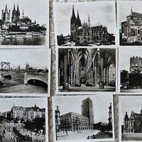 Köln a. Rhein 12 echte Gastlichtabzüge Foto