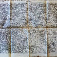 Pomorzany Zborow Lemberg Ukraine map Landkarte 1914