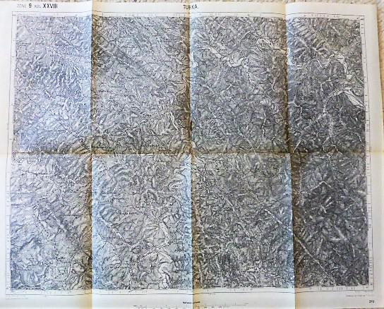 Turka Lemberg Ukraine Landkarte map 1909
