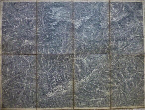 Mürzzuschlag Umgebung Österreich Landkarte 1879