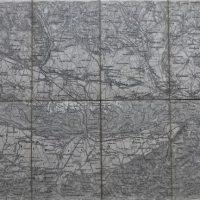 Tulln Österreich Landkarte Austria map 1880