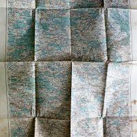 Brody Lemberg Ukraine Landkarte map 1915