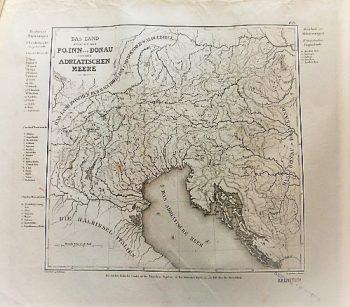Das Land Zwischen Dem Po Inn Donau Adriatischen Meere