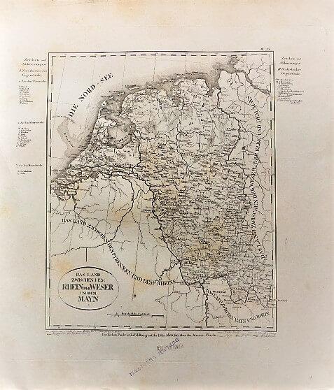 Das Land Zwischen Dem Rhein Der Weser Und Dem Mayn