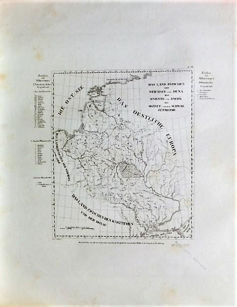 Das Land Zwischen Der Weichsel Und Düna Dem Dniestr Und Dnepr Der Ostsee Und Dem Schwarzenmeere