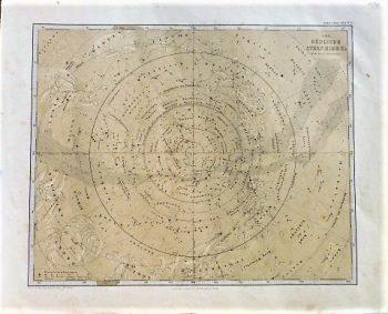 Der Südlische Stern Himmel 1866