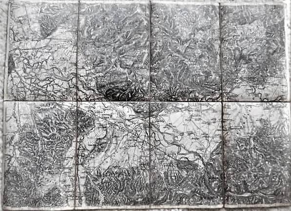 Gurkfeld Rann und Samobor Krsko Landkarte 1882
