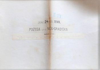 Pozega und Neu-Gradiska Nova Gradiska Landkarte