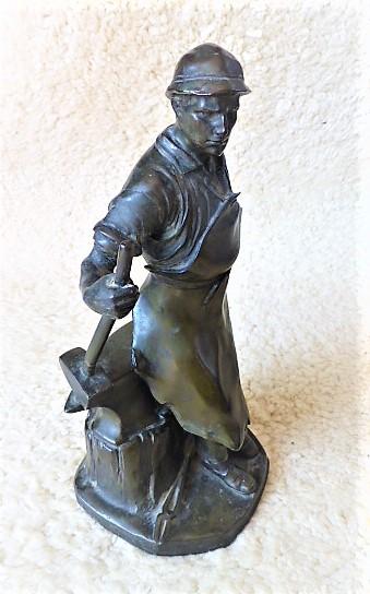 Schmiedestatue Wilhelm Zwick Kayser 26