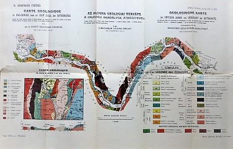 Geologische Karte der Unteren Donau 1903