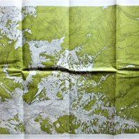Hodák pe Riu Ibanosci Romania Landkerte 1910-20 map