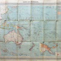 Karte von Australien Australia old map