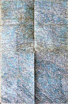 Jaroslav Przemysl Rzeszow Polen Poland Landkarte 1901