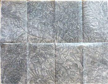 Sabinov Lipany Slovakei Landkarte Slovakia old map 1879