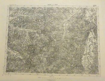 Hodod Jibou Rumanien Landkarte Romania old map