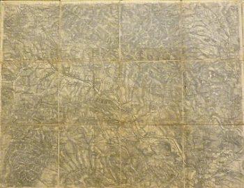Sabinov Kis Szeben Berzevice Slovakei Landkarte 1879