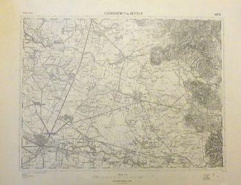 Satu Mare Rumanien Landkarte Romania old map