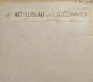 Alt-Lublau Szczawnica Galizien Stará Lubovna Slovakei Polen Landkarte 1879
