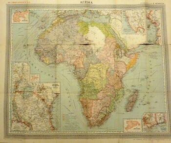 Carl Flemmings Generalkarte No 43 Afrika