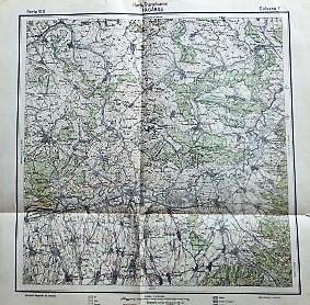 Harta Transilvaniei Fagaras Rumanien Romania old map