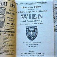 Illustrierter Führer K.K.Reichs-Haupt und Residenzstadt Wien und Umgebung