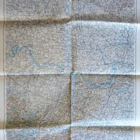 Mantua Mantova Italien Landkarte old map Italy