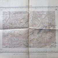 Pilatus Alpnachstad Schweiz Landkarte Switzerland old map 1906