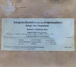 Strategische Übersicht des östr.russ.Kriegsschauplatzes 1884