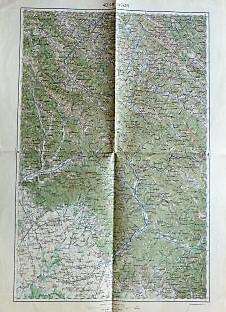 Ungvár Uzsgorod Ukraine Lesko Polen Landkarte map