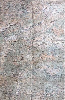 Bánska Bystrica Zvolen Ruzomberok Slovakei Landkarte Slovakia old map 1887