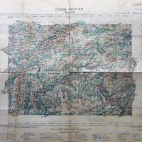 Besancon Umgebung Frankreich Landkarte carte France old map 1904