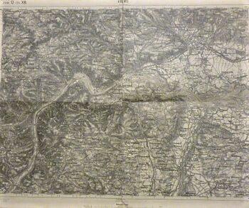 Krems Umgebung Österreich Landkarte Austria old map 1902