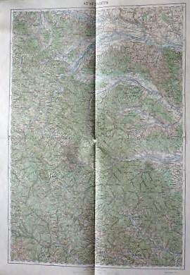 Sniatyn Kuty Kyti Umgebung Ukraine Landkarte Ukraine old map 1916