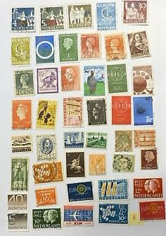 Niederländisch Briefmarken No 1.  Dutch stamps lot.
